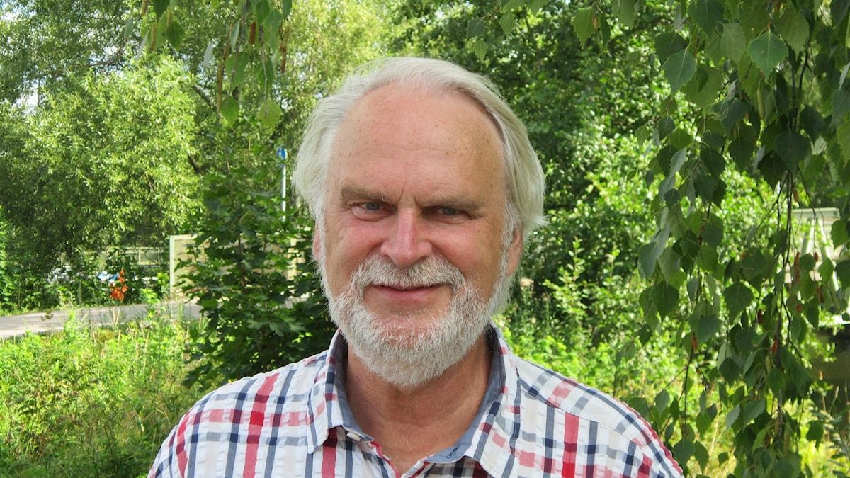 Anders Ceder, S i Lindesberg. Foto: Marie Hansson/P4 Örebro.