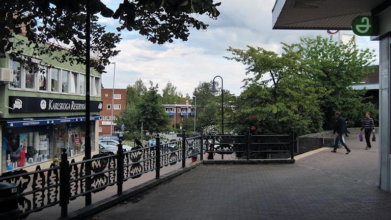 Karlskoga centrum.
