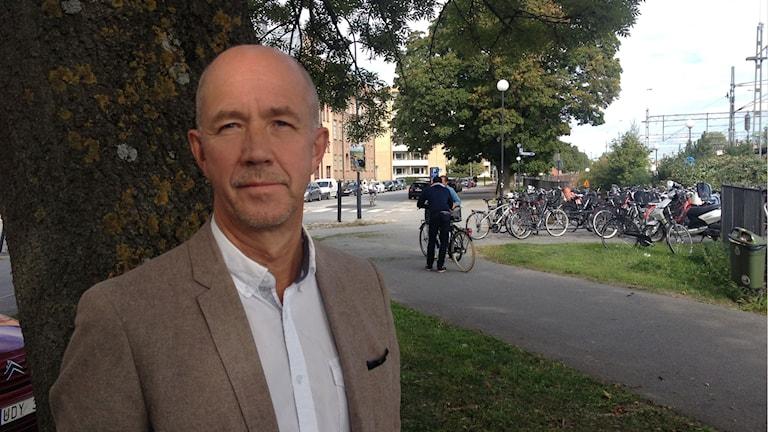Enligt Tommy Henningsson är situationen nu förbättrad på Ädelgården. Foto : Isabelle Strengbom/Sveriges Radio