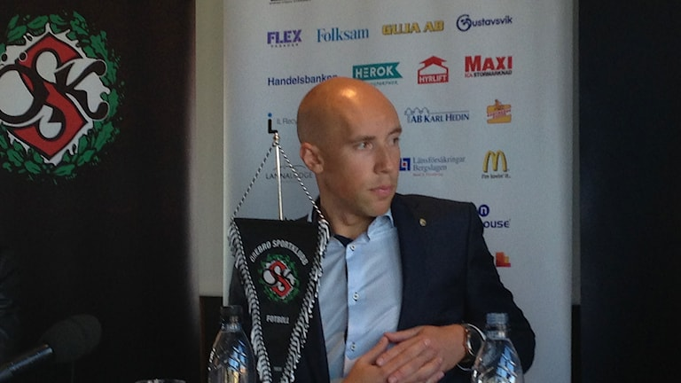 Simon Åström är ny vd för ÖSK.