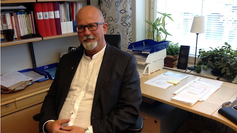 Peter Springare från Örebropolisen säger att väldtäkt är ett av de svåraste brotten att bevisa. Foto : Isabelle Strengbom/Sveriges Radio