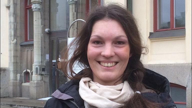 Elisabeth Malmqvist, C Örebro. Foto: Marie Hansson/Sveriges Radio.