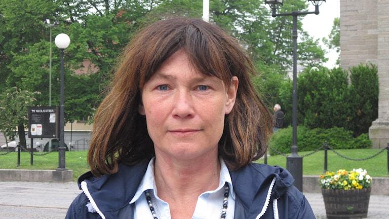 Karolina Wallström, FP Örebro. Foto; Marie Hansson/Sveriges Radio.