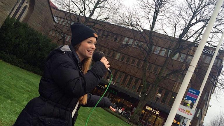 Malin Stoetzer. Foto: Madde Klippel/Sveriges Radio.
