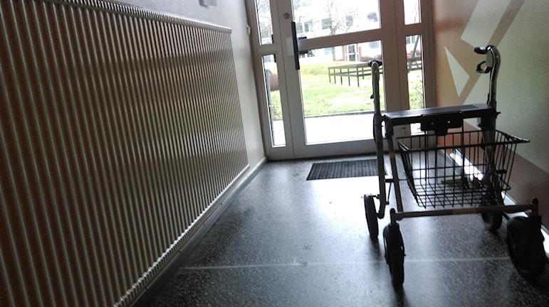 Brandföreskrifter ställer krav på utrymme i trapphus. Foto: Andreas Morén P4 Örebro.