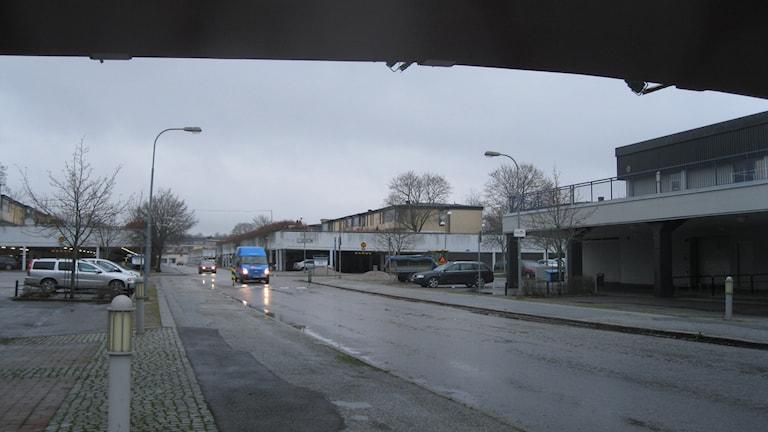 Oxhagen pekas ut som ett utsatt område. Foto: Anna Nyström/Sveriges Radio.