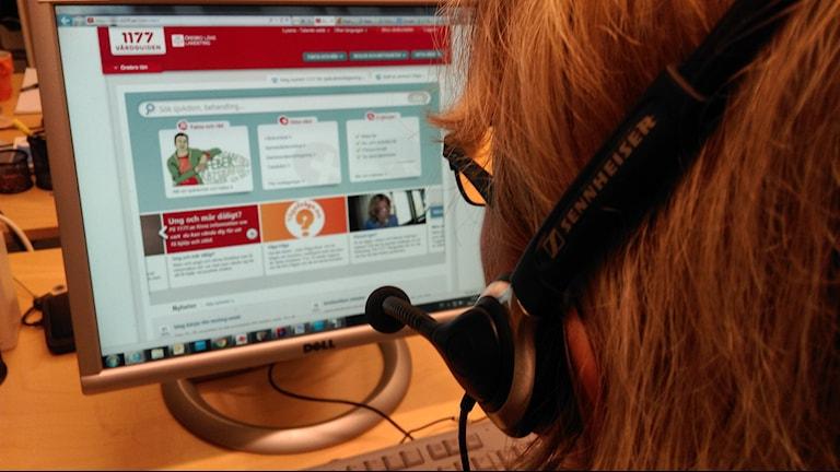 Långa väntetider på 1177 Sjukvårdsupplysningen. Foto: Andreas Morén P4 Örebro Sveriges Radio.
