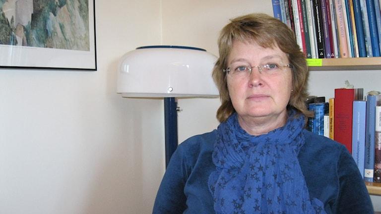 Britt-Louise Toresson-Blohm är chef för socionomutbildningen på Örebro universitet.
