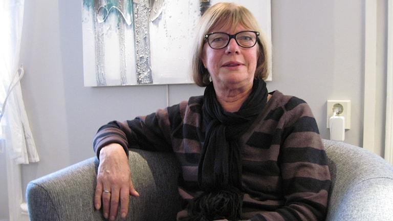 Anita Schön, privatanställd socialsekreterare uthyrd till Lindesbergs kommun.