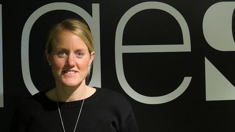 Marie Hammarström. Foto: Eva Hallgren/Sveriges Radio.