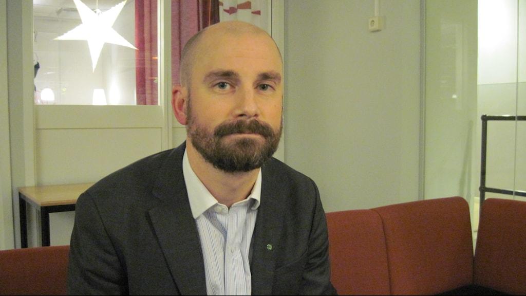 Rasmus Persson, centerpartistikst kommunalråd i Örebro.
