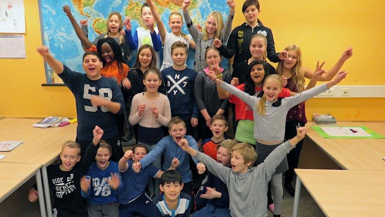 Lillåns Södra skola 5S i Örebro.