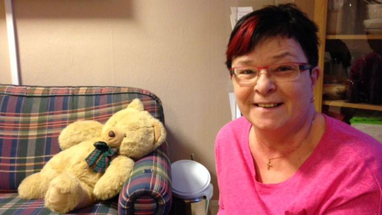 Yvonne Helj är föreståndare på kvinnohuset i Karlskoga