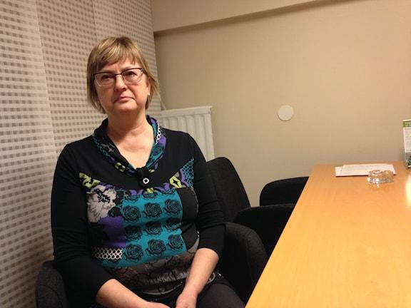 Centerpartisen Birgitta Höijer missnöjd av av oppositionsråd. FOTO: Gabriella Garpefjäll