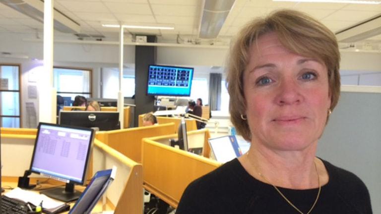 Lisa Bystedt, områdeschef för landstingets Länstrafiken