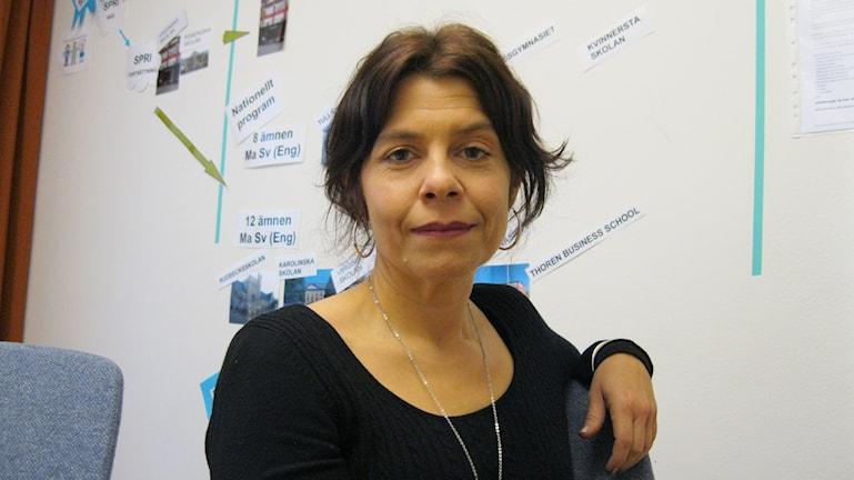 Anna Jakobsson, chef för enheten för ensamkommande barn och ungdomar.