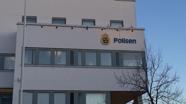Polishuset i Örebro.