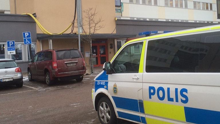 Örebropolisen på plats vid Transportstyrelsen