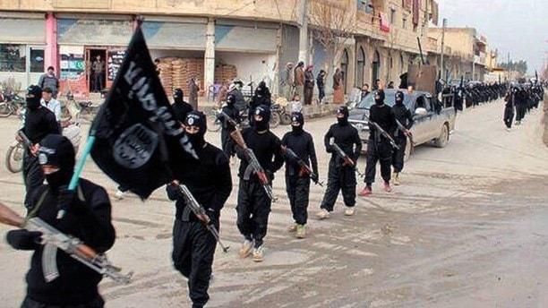 IS i Syrien. Foto: AP Photo/militant website, File/TT.