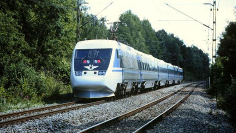 Ska snabbtåget Stockholm-Oslo bli verklighet? Foto: Björn Karlin/SVT.