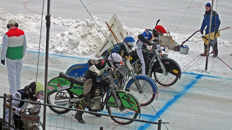 Isracingtävling. Foto: Sveriges Radio