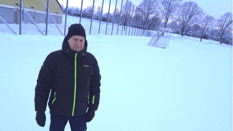 Mats Eriksson, ordförande BK Forward.