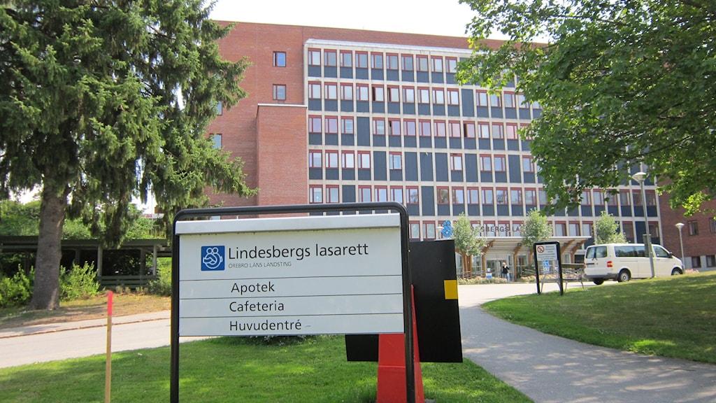 Lindesbergs lasarett. Foto: Marie Hansson/Sveriges Radio.