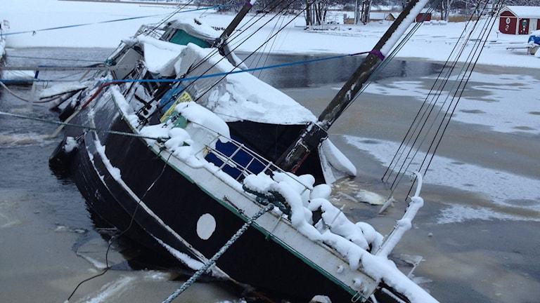 Snäckbåten i Askersund.