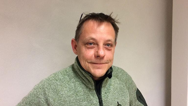 Rolf Atterling, organisationen Missing people. Foto: Karwan Tahir/ Sveriges Radio