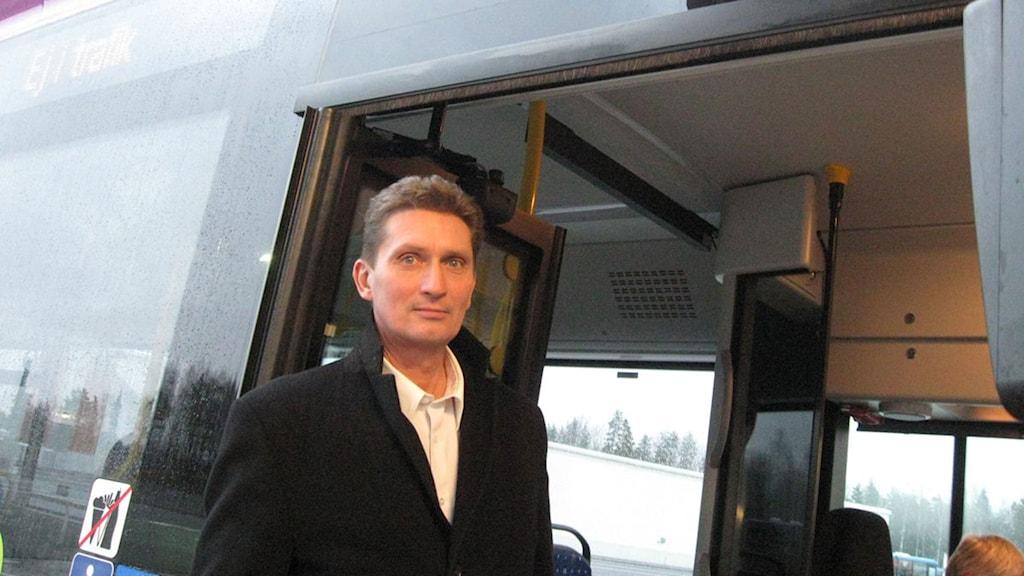 Tex Kihlström. Foto: Sveriges Radio.