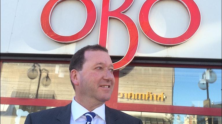 Ulf Rohlén, vd för Öbo. Foto: Marie Hansson/Sveriges Radio.