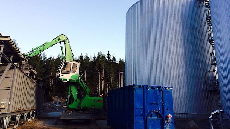 Biogasanläggning i Karlskoga.
