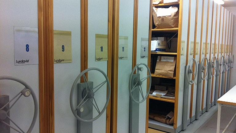 Arkivskåp arkiv, förråd