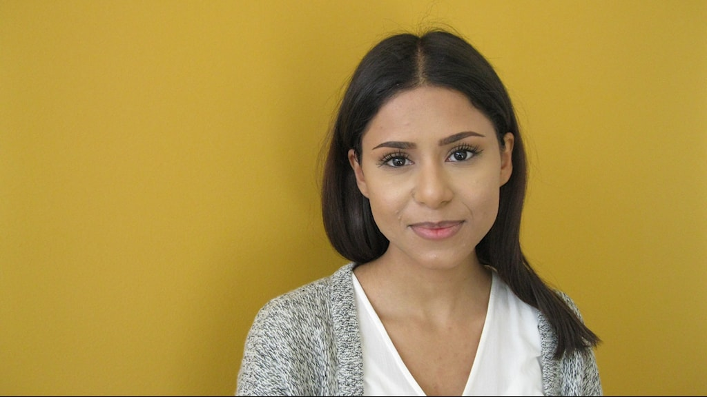 Nadja Awad, volontär på Örebro Rättighetscenter.