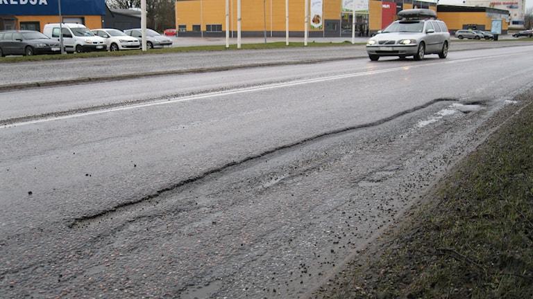 Rekordsatsning på asfaltering på Örebros gator.