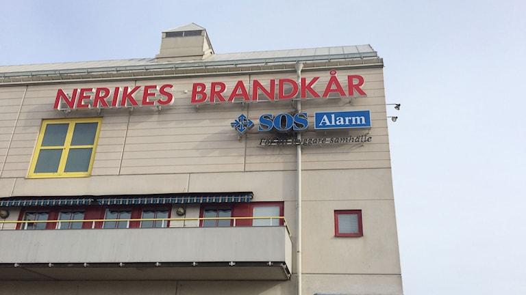 Brandstation, Nerikes brandkår, SOS Alarm