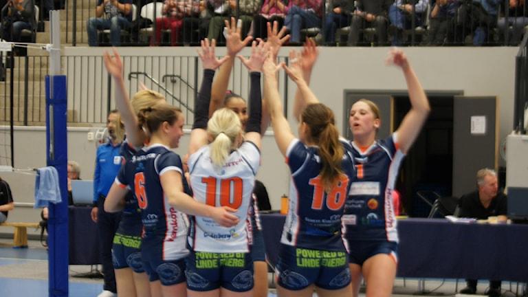 Therese Granlund med sitt Linde Volley. Foto: Lasse Hellstrandh