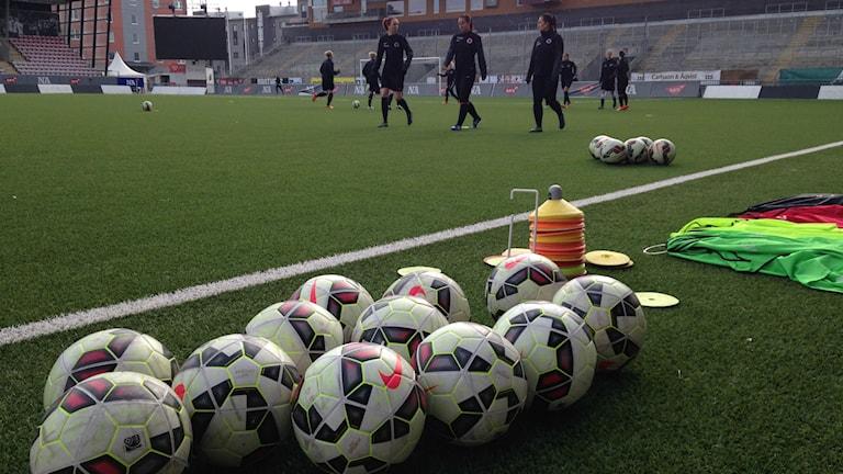 Fotboll, träning, KIF Örebro