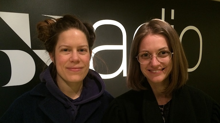 Anna Persson och Anna Weitz