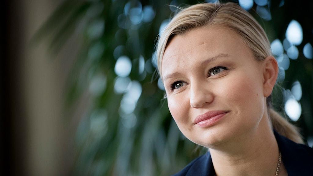 Ebba Busch Thor väntas ta över som KD-ledare under lördagen. Foto: TT.