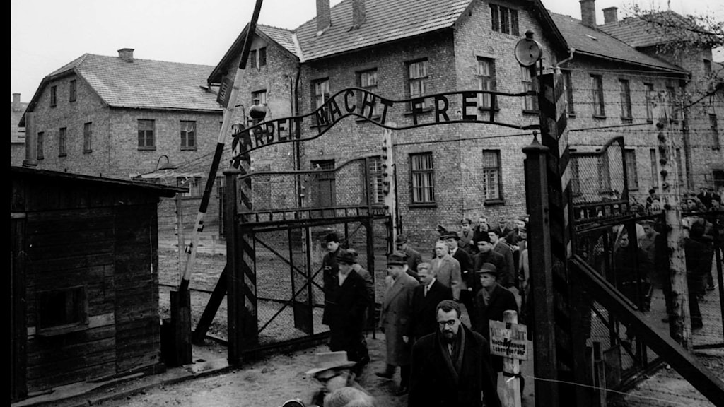 Auschwitz koncentrationsläger andra världskrig polen