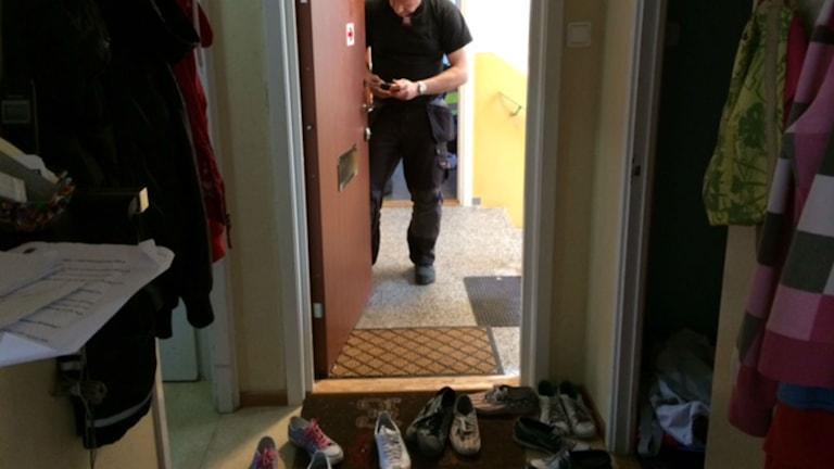 Fastighetsägaren byter lås vid vräkning