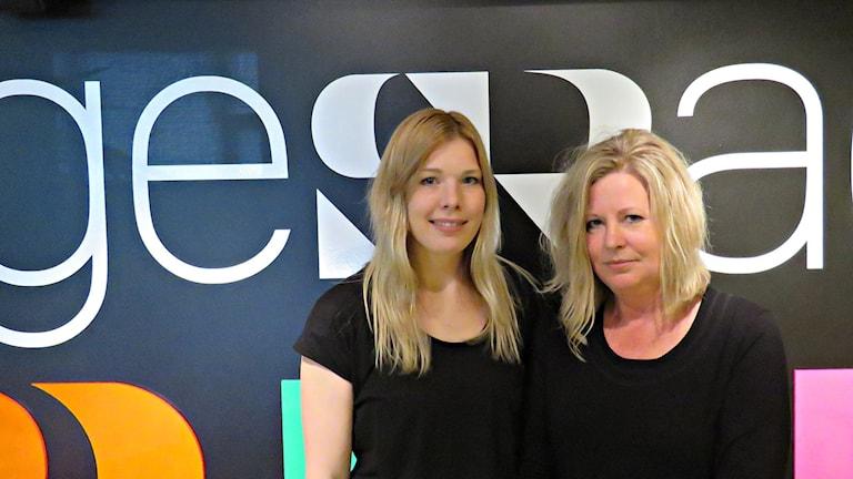 Erika Wiklund och Laila Andersson från Örebro lever med sjukdomen endometrios.