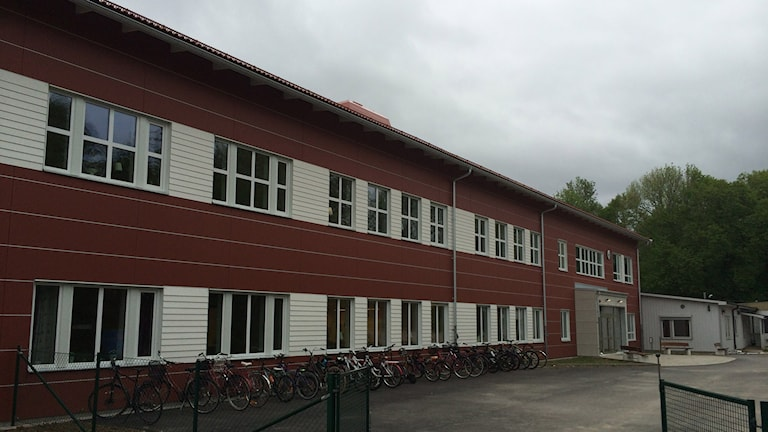 Skolan i Hidinge utanför Fjugesta