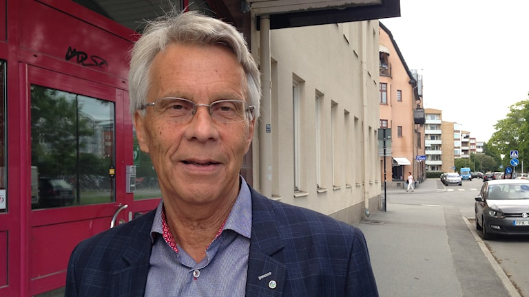 Lennart Bondeson (KD). Foto: Lovisa Waldeck/Sveriges Radio
