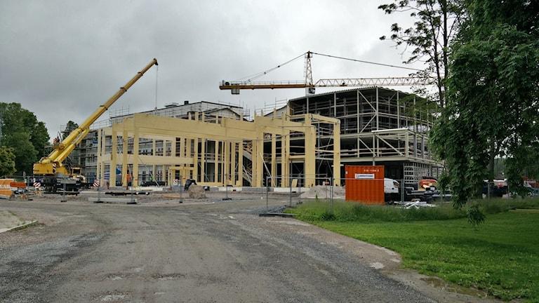 Mehr Wohnungsbau in Gegenden in denen es auch Arbeit gibt, fordert RiksrevisionenFoto: Jens Tisbo/Sveriges Radio