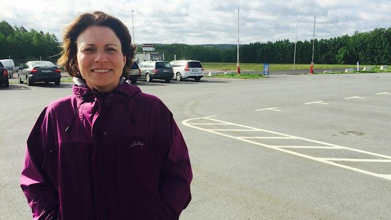 Eleonor Åkerlund är avdelningschef på stadsbyggnadskontoret i Karlskoga. Foto: Hanna Roth/Sveriges Radio