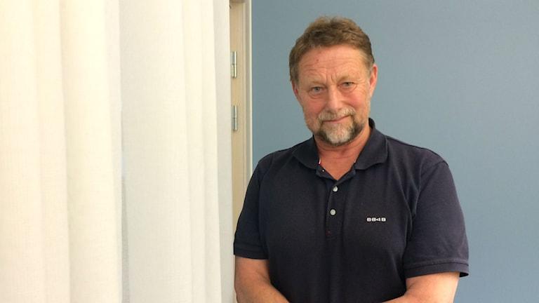 Anders Sjöberg är ordförande för Polisförbundet i Örebro län. Foto: Gabriella Garpefjäll/Sveriges Radio