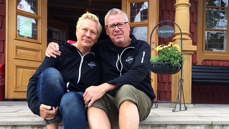Ulla Kalander-Karlsson och Ken Karlsson ska båda tävla i  världsmästerskapet i guldvaskning