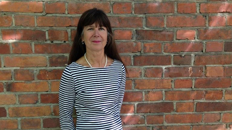 Susanne Bergström jobbar som är förvaltningschef på Socialförvaltningen vid Örebro kommun. Foto: Gabriella Garpefjäll/Sveriges Radio